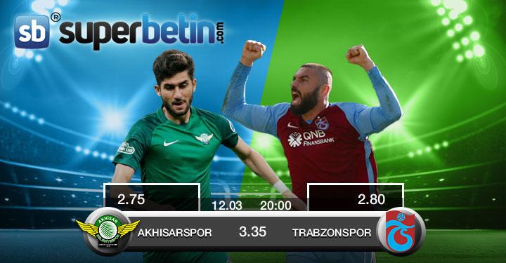 Akhisarspor Trabzonspor Maçı