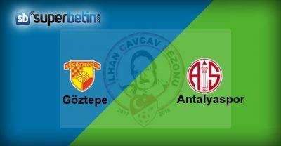 Göztepe Antalyaspor Maçı Canlı İzle