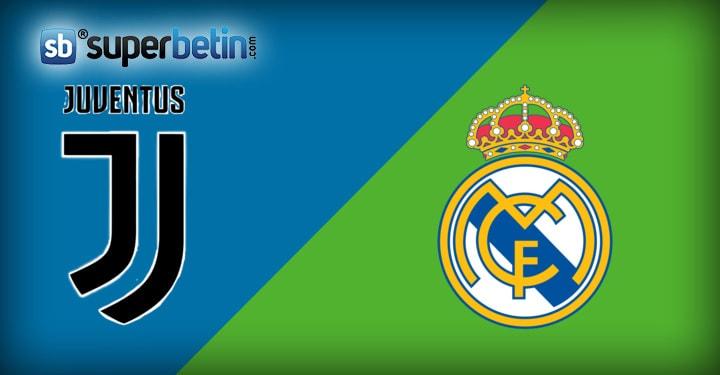 Juventus Real Madrid Maçı