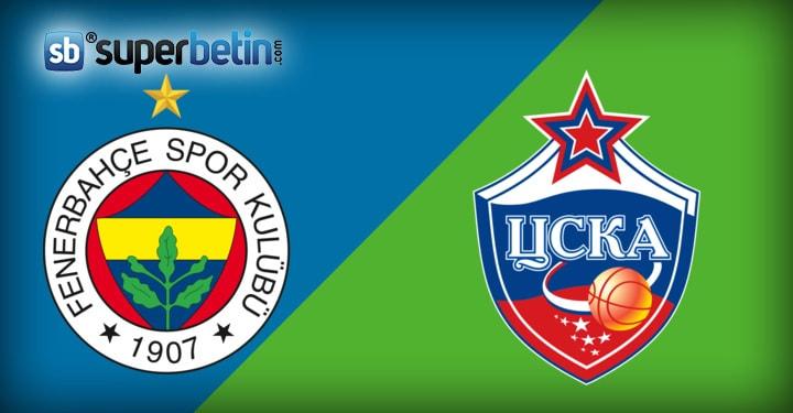 Fenerbahçe Cska Moskova Maçı