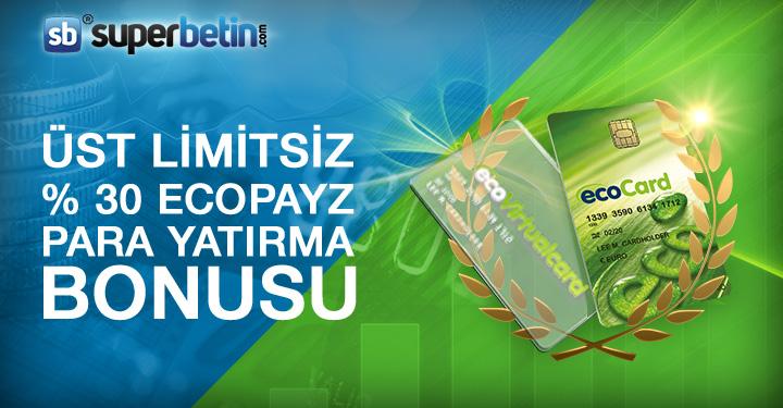 Üst Limitsiz Ecopayz Bonusu
