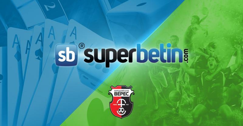 Superbetin Sponsorluk NK Veres Rivne