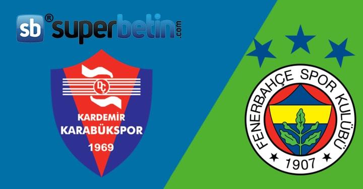 Karabükspor Fenerbahçe Maçı