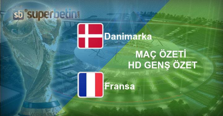 Danimarka Fransa Maç Özeti