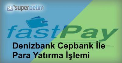 Denizbank Cepbank İle Para Yatırma