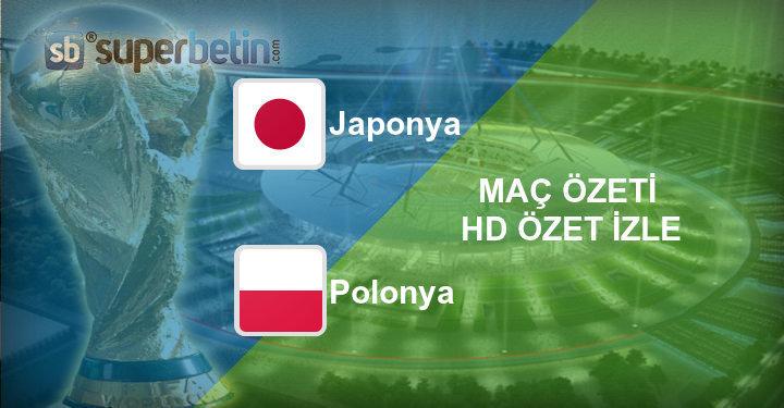 Japonya Polonya Maç Özeti