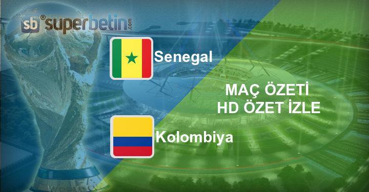 Senegal Kolombiya Maç Özeti