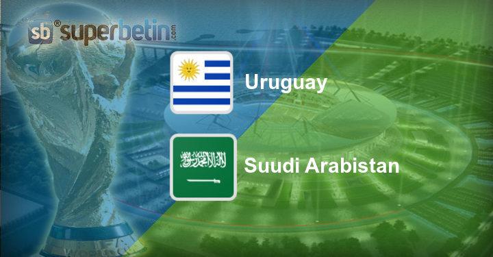 Uruguay Suudi Arabistan Maç Özeti