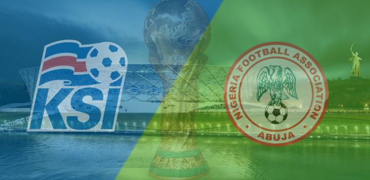 Nijerya İzlanda Maç Özeti