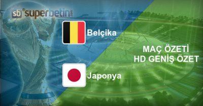 Belçika Japonya Maç Özeti