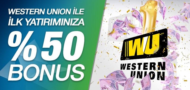 Western Union Yatırım Bonusu