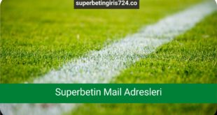 Superbetin Mail Adresleri